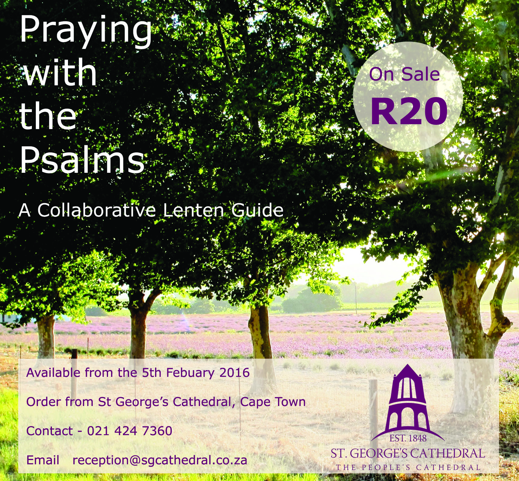 Praying with the Psalms Poster
